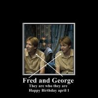 Fred and George by Kushina-Uzumaki-II