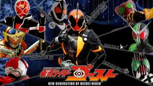 New Generation of Heisei Rider by Ihsan-Apriyanto