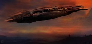 Spaceship - The Close Encounter by Devin87