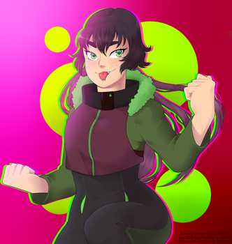 [Art Trade] with Korinichi by Amadere