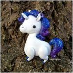 Unicorn Pendant  Commission - K4tochan by Lunnie
