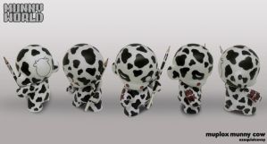 Munny - muplox cow by surfender