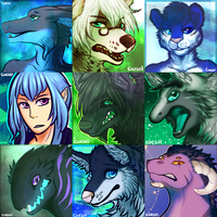 Icon Commissions by Caesol