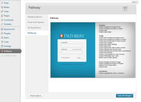 Pathway WP Login - Admin by vennerconcept