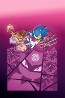 Sonic Universe 13 cover by Yardley