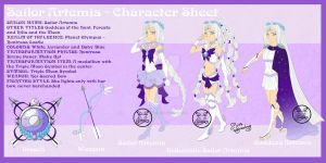 Sailor Artemis-Character Sheet by NemoTurunen