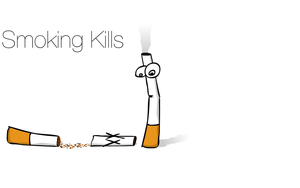 Smoking Kills by Lord-of-the-crayons