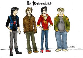 clothes makes the marauder by byLau