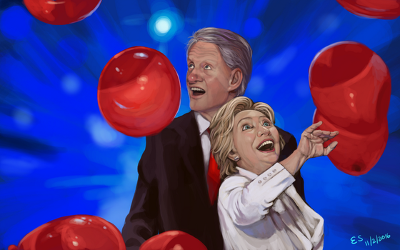Clintons and Balloons by kiiroikimono