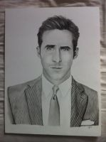 Ryan Gosling by Gabgab3010