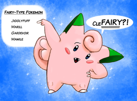 CleFairy Types by TigrisTheLynx