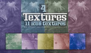 15 Textures by Silent-yelling