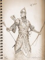 Elven Armor by TurnerMohan