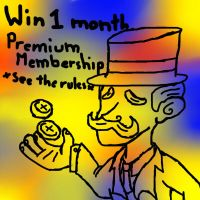 Win free one month Premium membership by Make-Some-Points-Now