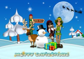 Christmas wallpaper 2 by simoner