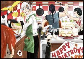HAPPY BDAY LAVI X3333 by punyaaan