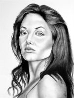 Angelina Jolie by abish