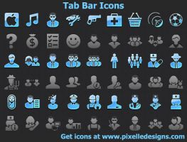 Tab Bar Icons with Source ... by shockvideoee