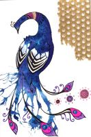 B-day peacock by inlovewithyourshadow