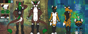 Folex And Kovex Ref by TheHuntingWolf
