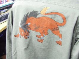 Red XIII Jacket by TunaPony