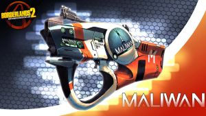 Borderlands 2 Wallpaper - Maliwan by mentalmars