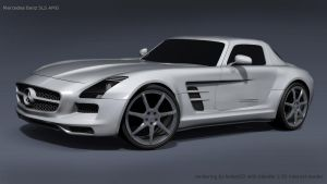 Mercedes Sls Amg Final by koleos33