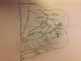 W.I.P Gift:ItaHisa: When My Lips Touch Yours.. by Shizako-san