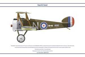 Camel USAS 17th Pursuit Sqn by WS-Clave