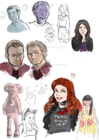 doodles by X3carlyX3