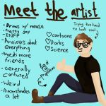 Meet The Artist by WysteriaMage
