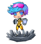 Vi Chibi by 7guineapig7
