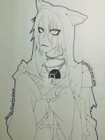 Ulquiorra Line Art by HumbleScarlet