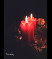 christmas candle by Kekstraum