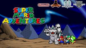 Super Mario Adventures - Poster TuffTony's Version by TuffTony