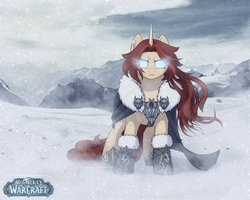PonyGame: WOW - Anhy by LessaNamidairo
