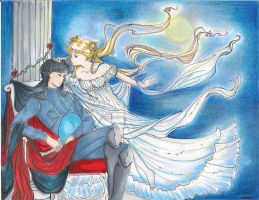 Serenity and Endymion by blobble