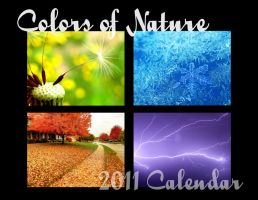Calendar - Colors of Nature by FramedByNature