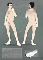 Crocuta1990- Character design 2 by malikaa