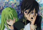 Lelouch and C.C. by Microbxer