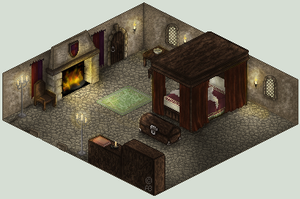 Medieval Bedroom v2 by ValkAngie