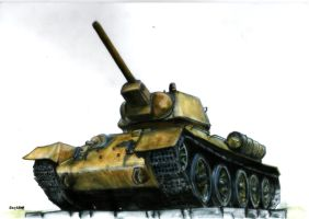T-34 by Cune