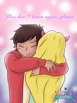 Don't leave me -Starco by Mechiiko