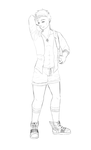 Tiny shorts are what I live for by Baka-Doll