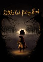 Little Red ridding hood book cover by Shinigami1289