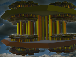 Floating Temple by PhotoComix2