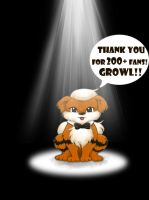 Growlithe thanks by Fred-Weasley
