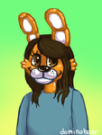Jane the Bunny (contest entry) by DominoBear