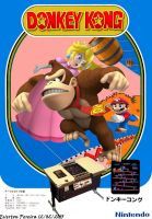 Donkey Kong Arcade Flyer Remake by tonatello