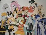 GroupVocaloidCraftPhoto by CinnaPyre